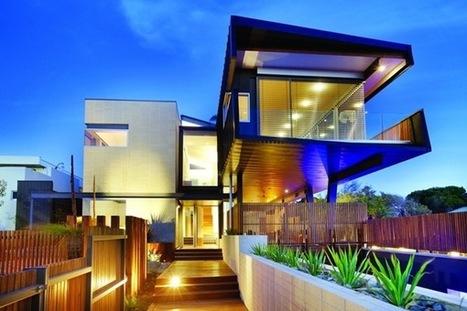 Casa Moderna y sostenible Beaumaris / Arquitectos Maddison   ARQUITECTURA CONTEMPORANEA   arquitectura   Scoop.it