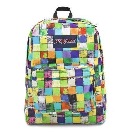Cheap Jansport Superbreak Backpack Blue/ Multi POP Block | cheaphomeappliances | Scoop.it