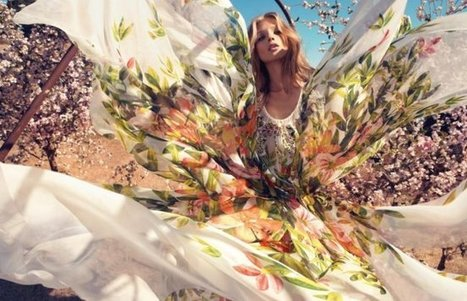 Blumarine Spring 2013 Campaign Features Anna Selezneva | Women Fashion Accessories | Scoop.it