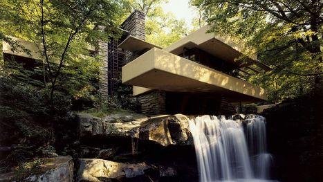 """"""" Maison de vacances d'architecte : Fallingwater de Frank Lloyd Wright """"- www.rtbf.be   Architecture Organique   Scoop.it"""