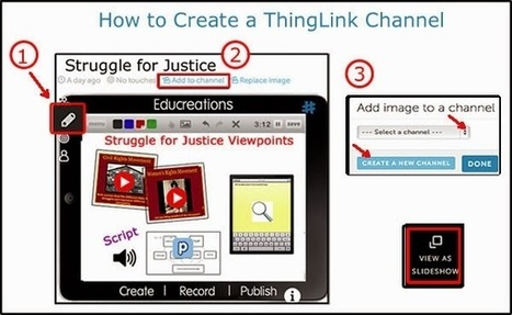 Cool Tools for 21st Century Learners: Create Interactive Albums with ThingLink Channels | Integrating technology and teaching and learning | Scoop.it