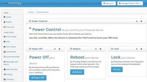 TheftSpy: Control remoto anti-ladrones para Android   VIM   Scoop.it