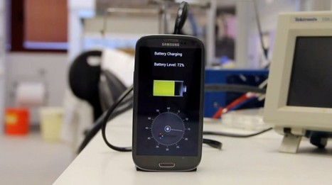 StoreDot : La batterie qui recharge un smartphone en 30 secondes !   칼라 복사기, 무한잉크 복합기(프린터) 임대   Scoop.it
