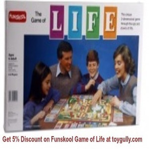 Get 5% Discount on Funskool Game of Life at toygully.com | KidsToys | Scoop.it