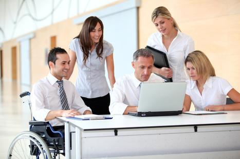 Aménagement des locaux professionnels : normes accessibilité handicapés | URBACCESS | Scoop.it