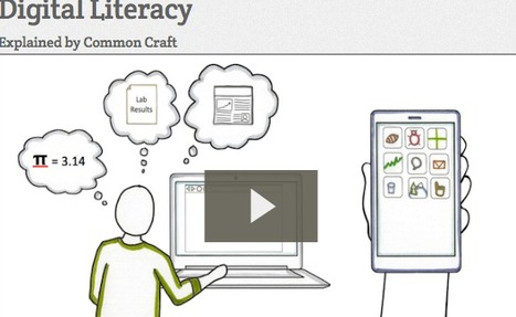 Digital Literacy- by Common Craft | Educommunication | Scoop.it