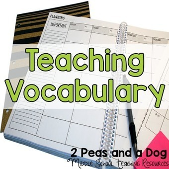 Ideas for Teaching Vocabulary - 2 Peas and a Dog | Dyslexia and Early Literacy Success for All Students | Scoop.it