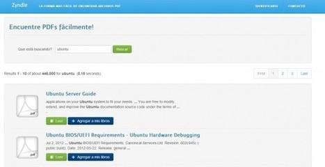 Zyndle, un nuevo y práctico buscador de libros y documentos | E-Learning, M-Learning | Scoop.it