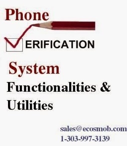 VoIP, Web, Mobile and SEO: VoIP Phone Verification System: Functionalities, Utilities | Asterisk Services & Solution | Scoop.it