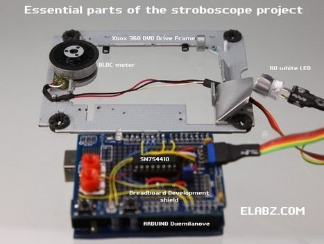 Brushless DC (BLDC) motor with Arduino. Part 3 – The Stroboscope Project - | Raspberry Pi | Scoop.it