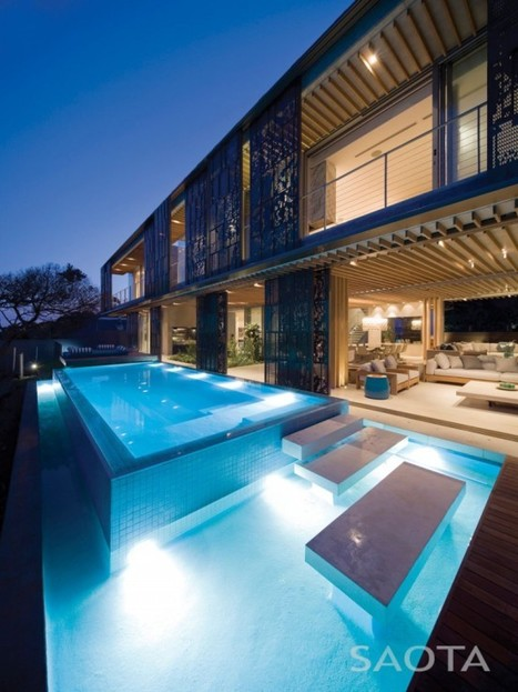 Modern Home Concept La Lucia Residence | yourhomyhome.com | Modern Home Design | Scoop.it
