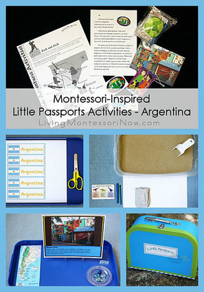 Montessori Monday – Montessori-Inspired Little Passports Activities – Argentina | Montessori Inspired | Scoop.it