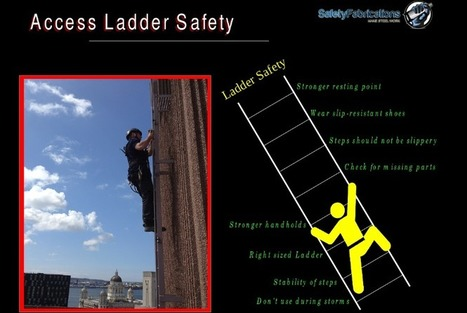 Safety Tips for Ladders | Safety Access Ladders | Scoop.it