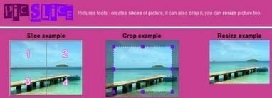 Ritagliare Immagini Online Gratuitamente: PicSlice   Editare Immagini   Scoop.it