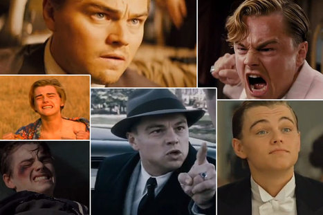 See Leonardo DiCaprio's Six Go-To Acting Moves in Tiger Beat Collage Form | Possible Future | Scoop.it
