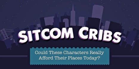 Can These Sitcom Characters Actually Afford Their Houses? | Economics in the News | Scoop.it