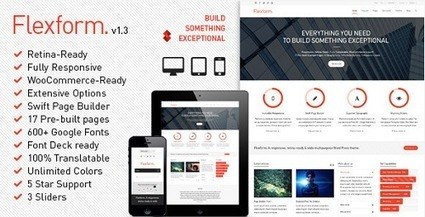 Top WordPress Themes of April 2013 | Web Development Tutorials and Resources @ ScratchingInfo | ScratchingInfo Web Development Tutorials and Resources | Scoop.it