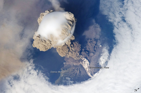 Sarychev Peak Eruption, Kuril Islands : Image of the Day | gaia | Scoop.it