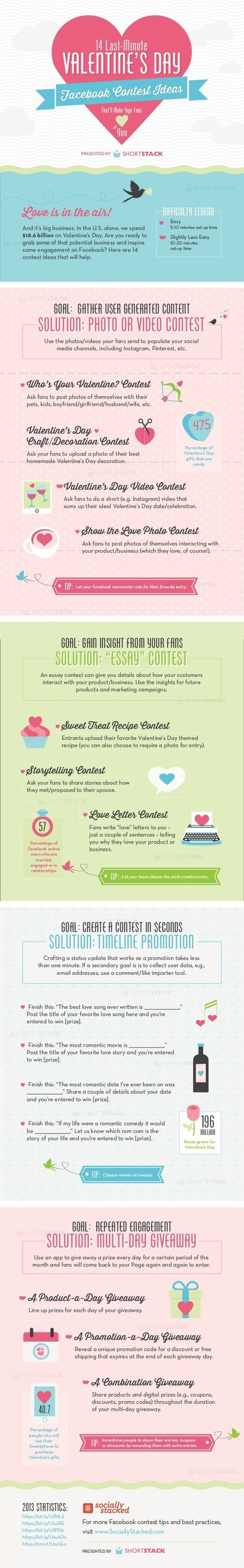 14 Awesome Valentine's Day Facebook Marketing Ideas | Social Media & Marketing | Scoop.it