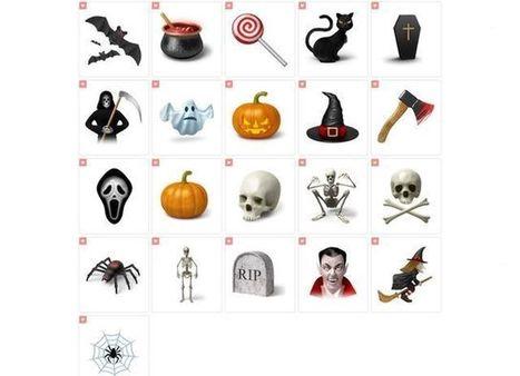 Desktop Halloween Icons, colección variada de iconos de Halloween | Recull diari | Scoop.it
