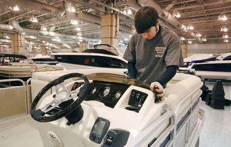 Boats cruise into Atlantic City Convention Center ahead of show - Press of Atlantic City | Discover Boating | Scoop.it