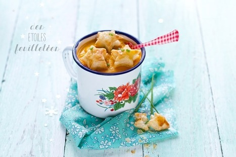 Des étoiles feuilletées | Mynspiration cuisine | Scoop.it