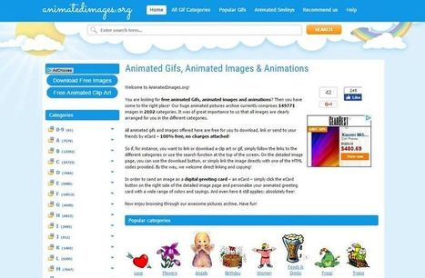 Animated Images: 150000 animaciones GIF gratis para descargar | El TICtero | Scoop.it