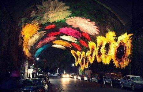 La ville de Sydney transformée en oeuvre d'art grâce à des jeux de ... | Australie | Scoop.it