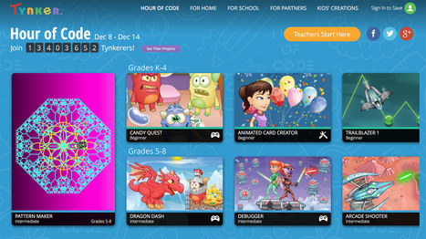 Tynker Launches 10 New Coding Activities to Support the Hour of Code | Play Serious Games | Scoop.it