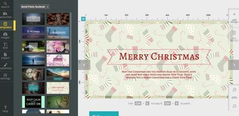Desygner. Créer vos images pour les réseaux sociaux – Les outils de la veille | Web Increase | Scoop.it