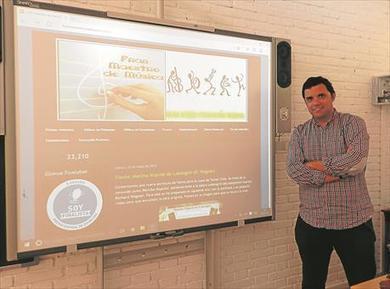 'Utilizo el blog como medio de comunicación en el aula' | Educació Musical | Scoop.it