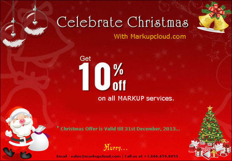 Christmas Bliss – Markupcloud Offers 10% Discount on All Services | Transform PSD to XHTML/HTML5 | CSS, Wordpress, Drupal, Joomla, Magento Markup Conversion Services | PSD to Wordpress | Scoop.it