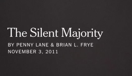 The Silent Majority - Video Library - The New York Times | Learning, Teaching & Leading Today | Scoop.it
