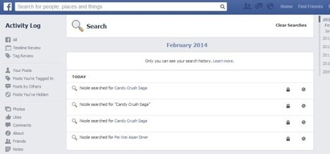 How to delete your Facebook search history | Crounji | Scoop.it
