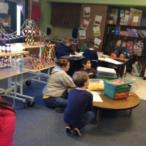 Tinkering and STEM in a Collaborative, Creative Classroom, a project from Mrs. Klingner | iPads in Education Daily | Scoop.it