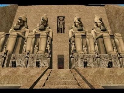 Visita Virtual Encarta 2009 - Abu Simbel, 1250 a. C.   Jugando con la Historia   Scoop.it