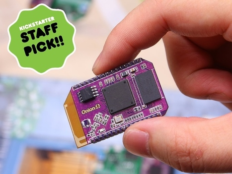 Onion Omega: Build Hardware with JavaScript, Python, PHP | Open Source Hardware News | Scoop.it