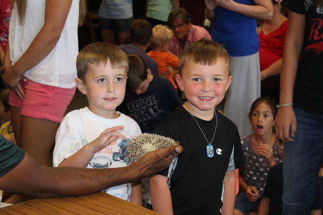 Chattanooga Zoo visits Dayton Library | Tennessee Libraries | Scoop.it