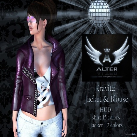 Kravitz Jacket & Blouse Teleport Hub Group Gift by ALTER | Teleport Hub - Second Life Freebies | Second Life Freebies | Scoop.it