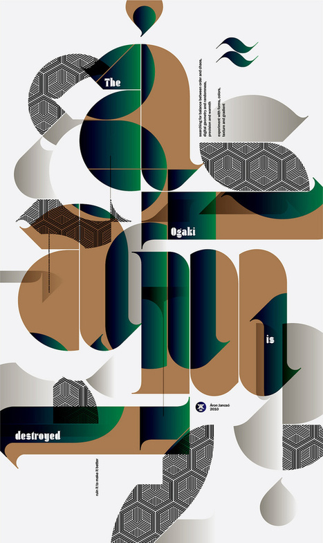 Modern Typographic Posters By Aron Jansco | Creativity and imagination | Scoop.it