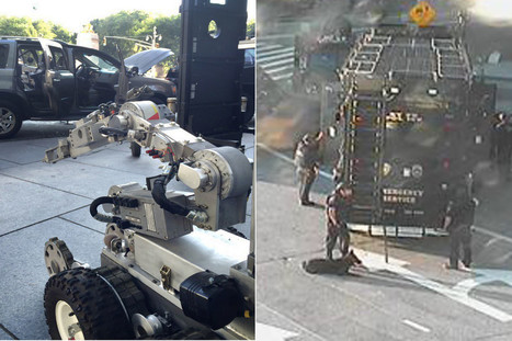 NYPD used this Robot to Video chat with Hoax Bomber   Technology in Business Today   Scoop.it