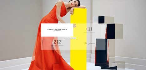 Elegant Inspiration | Carolina Herrera | Website Design bei Brandsupply | Scoop.it