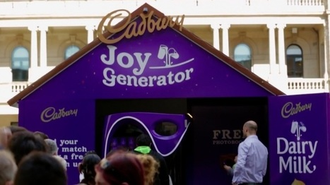 Cadburry crée un distributeur qui offre des chocolat en fonction de votre profil Facebook | Les techniques du e-marketeur | Scoop.it