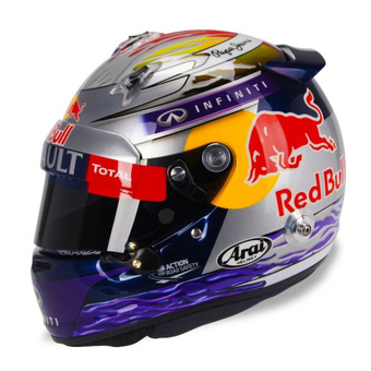 Sebastian Vettels neuer Helm für Abu Dhabi | Lifestyle | Scoop.it