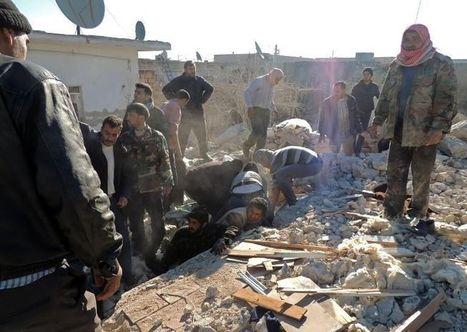 Syrie: Plus de 400 morts en 10 jours de raids aériens sur Alep (ONG) | Géopolitique du Moyen Orient | Scoop.it