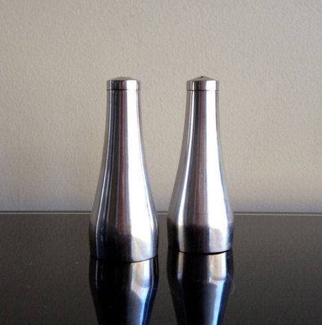 stainless Steel Salt and Pepper Shakers | stainless steel | Scoop.it