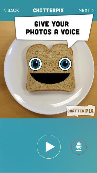 ChatterPix – Add voice to images