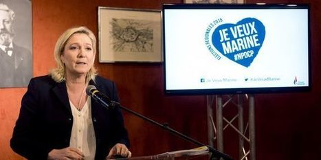 Marine Le Pen aux artistes : « Vous comptez à mes yeux… » | communication & culture | Scoop.it