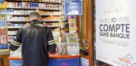 Compte-Nickel, le compte bancaire alternatif, fait un tabac - Challenges.fr | Finances et entreprises | Scoop.it