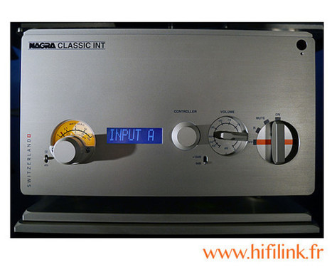 Nagra Classic Int - HIFI LINK Lyon Geneve Annecy Grenoble | HIFI Link Hifi Haut de gamme Lyon Geneve Annecy Grenoble Bourg en Bresse | Scoop.it